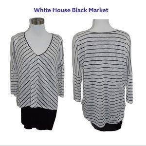 White House Black Market dolman sleeve Tunic